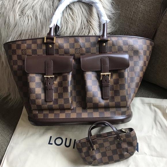 896d65408af Louis Vuitton Handbags - Authentic Louis Vuitton Monosque Damier w mini